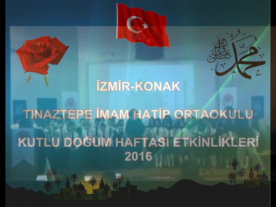 Tınaztepe Iho Kutlu Doğum Haftası Etkinliği Koro Ve Semazen Izle