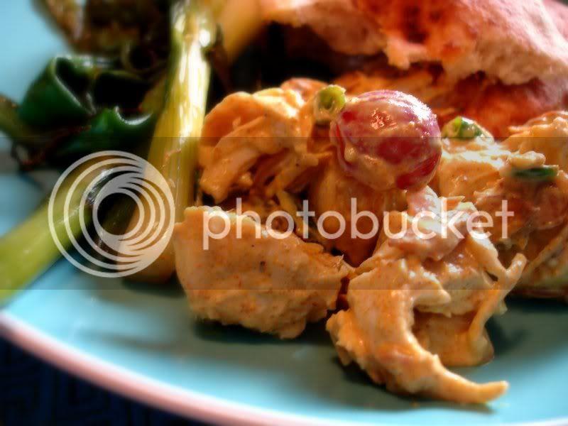 curry crunch chicken salad