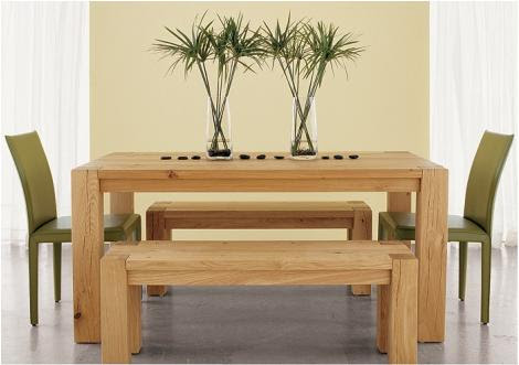 Big Sur Dining Table from Crate & Barrel - all natural wood dining ...