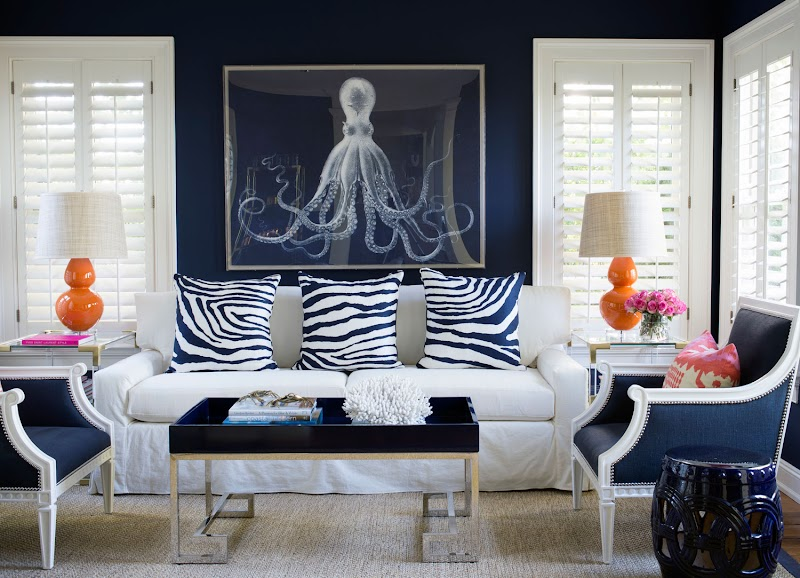 Get Inspired For Navy Blue Living Room Decor Ideas images