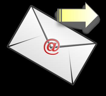 English: email envelope
