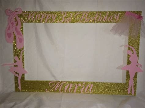 Ballerina Booth Frame To Take Pictures royal, princess