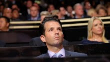 Donald Trump Jr. at the 2016 Republican National Convention in Cleveland, Ohio. (File Photo)