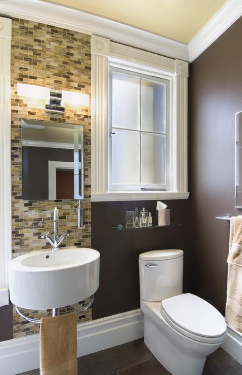 His Bathroom modern bathroom