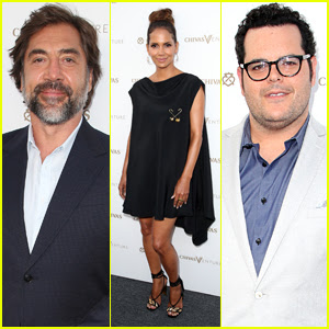 Halle Berry Joins Javier Bardem & Josh Gad at 'The Final Pitch' Event