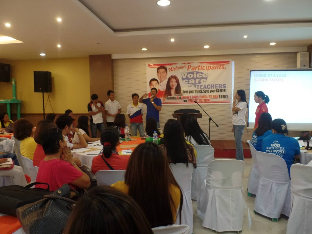 Voice Monster Andrew San Fernando teaches Voice Acting for Effective Teaching