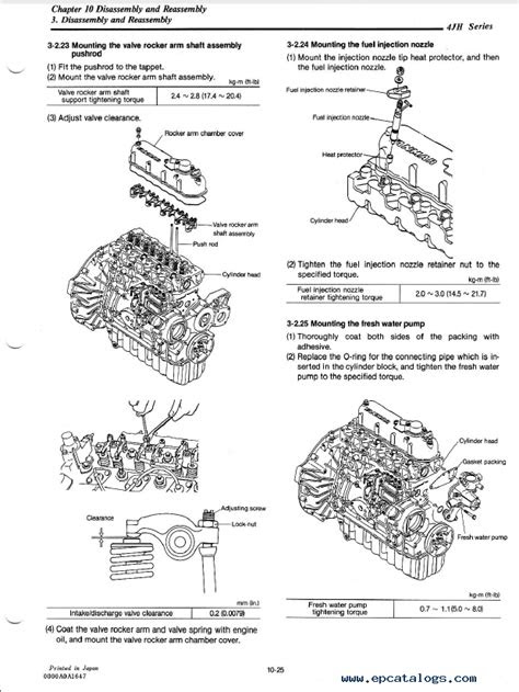 Yanmar Engine 4JH Series Service Manual PDF