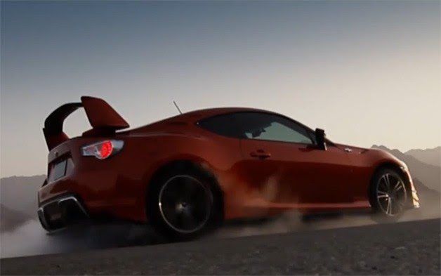 Toyota GT-86 in the UAE