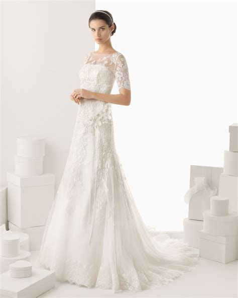 DressyBridal: Wedding Dresses with Lace Long Sleeves and
