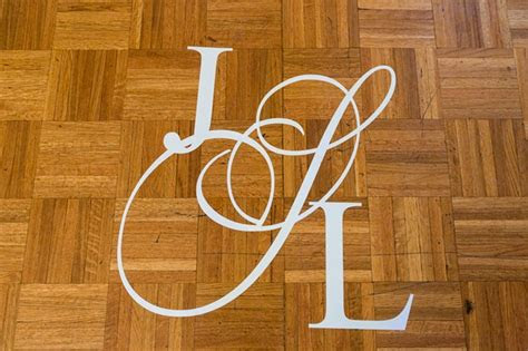 ideas  incorporate initials   wedding decor