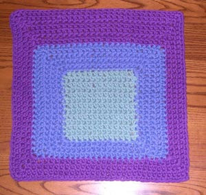Bauhaus Washcloth (Crochet)
