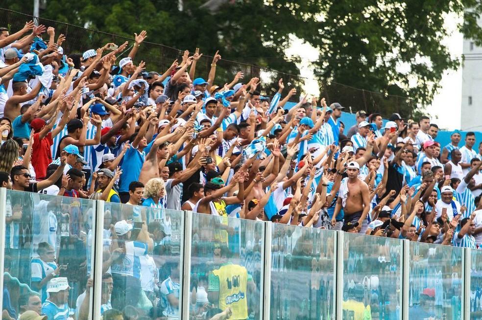 Torcida do Paysandu já pode adquirir o ingresso para o jogo contra o Sampaio (Foto: Fernando Torres/Paysandu)
