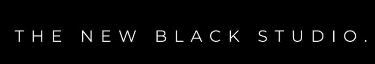 the new black studio logo