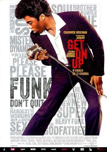 Przód ulotki filmu 'Get On Up'