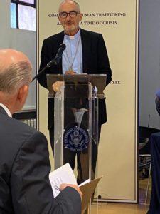 CHUYÊN MỤC: Nạn buôn người & Bóc lột — Những rủi ro gia tăng trong đại dịch — Đại sứ quán Hoa Kỳ tại Tòa thánh Tổ chức Hội nghị Chuyên đề trực tuyến toàn cầu
