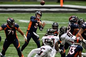 WATCH: Broncos' Drew Lock connects with Tim Patrick for touchdown against  Falcons – The Denver Post