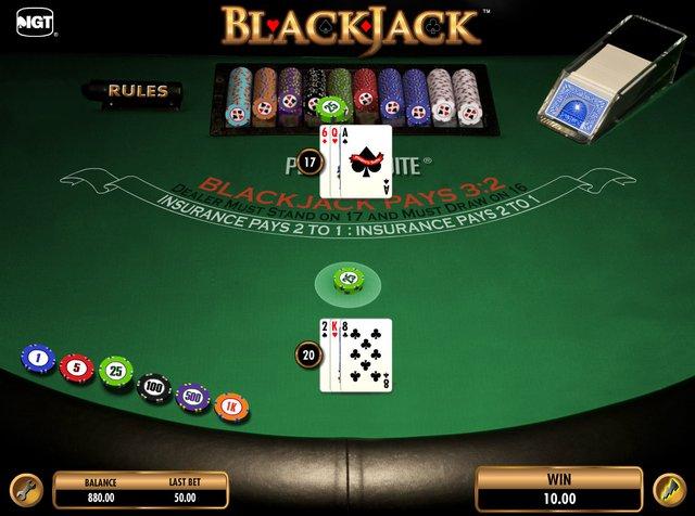 IGT's Blackjack