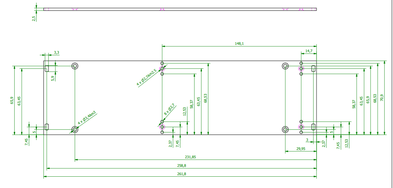 Mark 3 Vacuum Tube Mixer 6u Modules Part 1