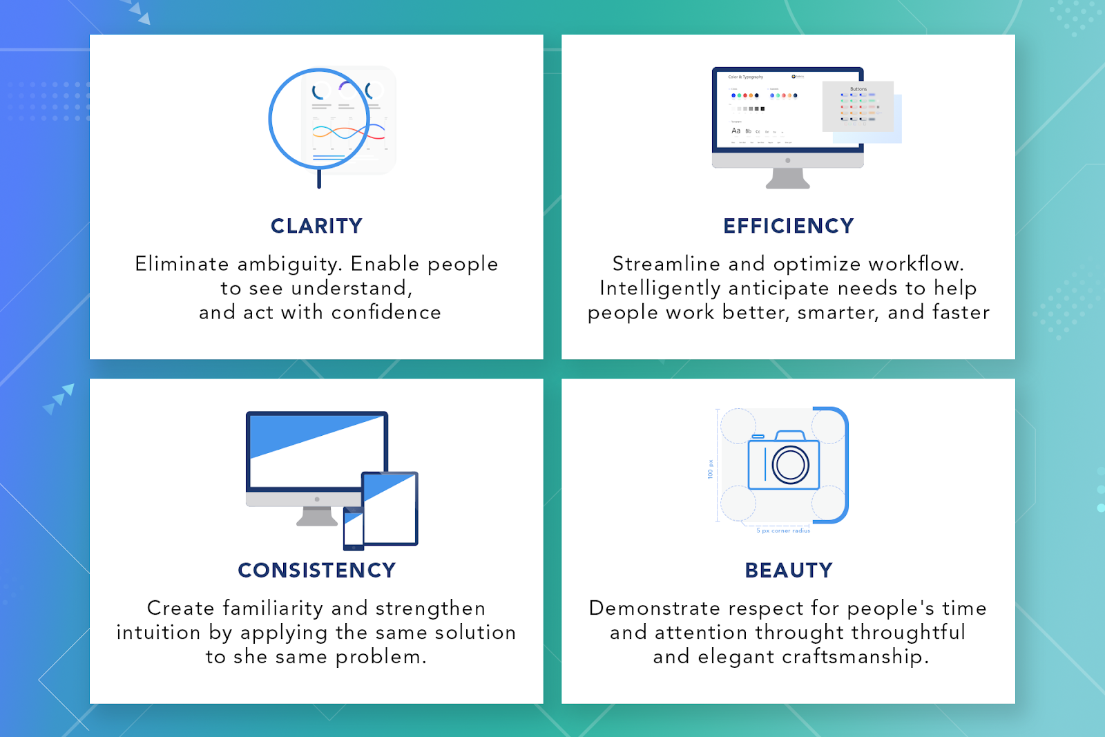 Four principles of a design system - Softengi