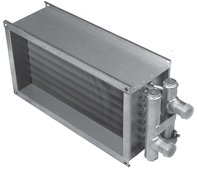 Водяной нагреватель Shuft WHR 400x200-3, купить Водяные нагреватели с  доставкой, цены в интернет магазине jiner.ru