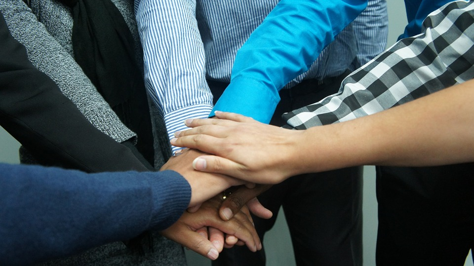hands on hands when it comes to basic employee needs
