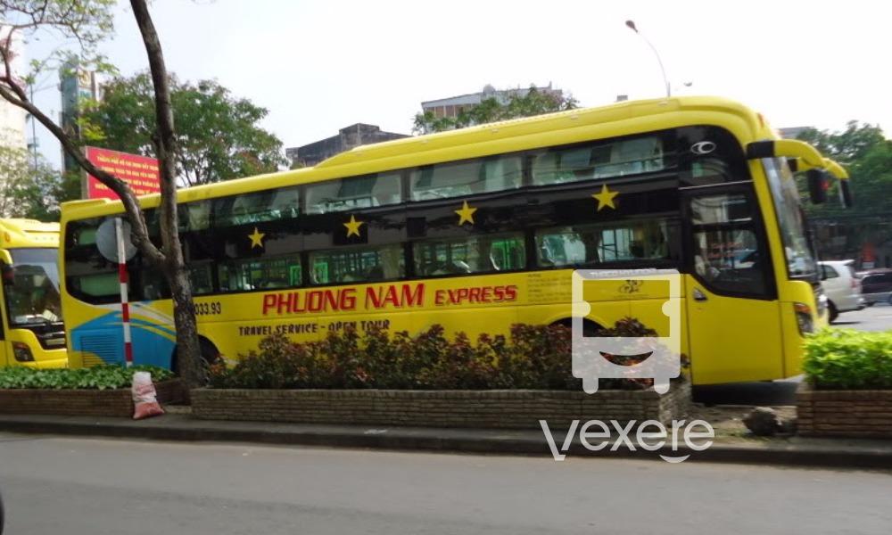 Xe Phương Nam từ Sài Gòn đi Nha Trang