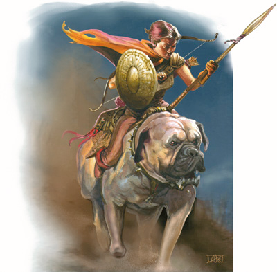 pathfinder mounted skirmisher