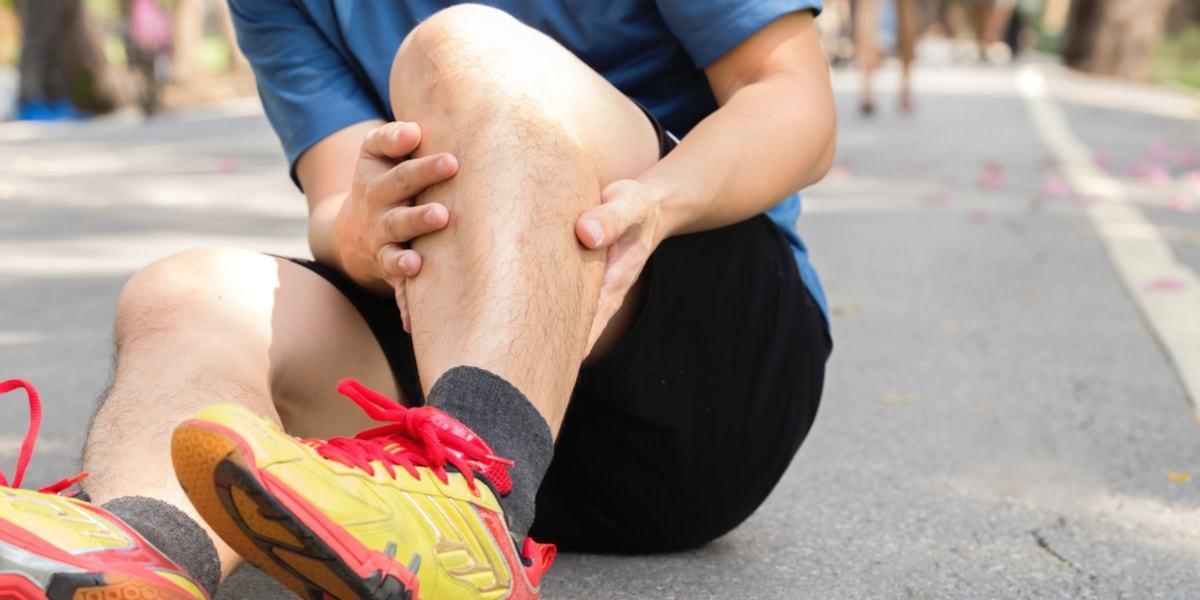 lower leg calf pain running