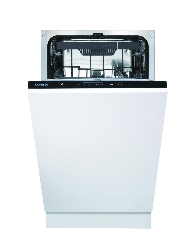 Конструкция и особенности посудомоечной машины Gorenje GV52012