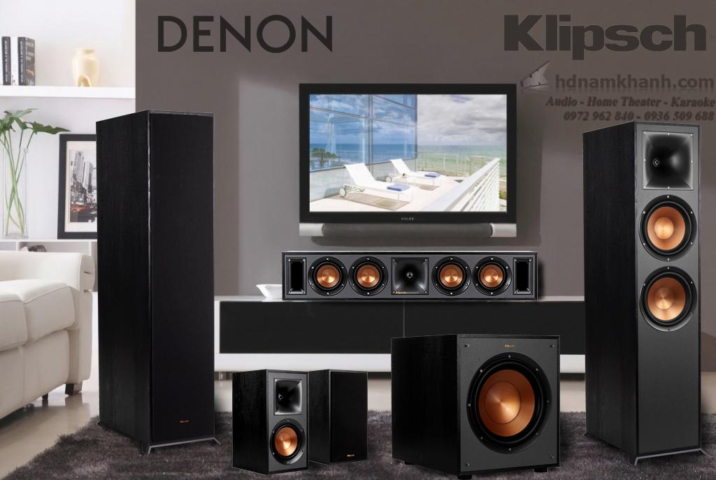 Bộ loa 5.1 Klipsch 5000F, 6000F, 8000F, 820F, 620F giá tốt, lựa chọn tuyệt vời cho phòng giải trí ch - 262957