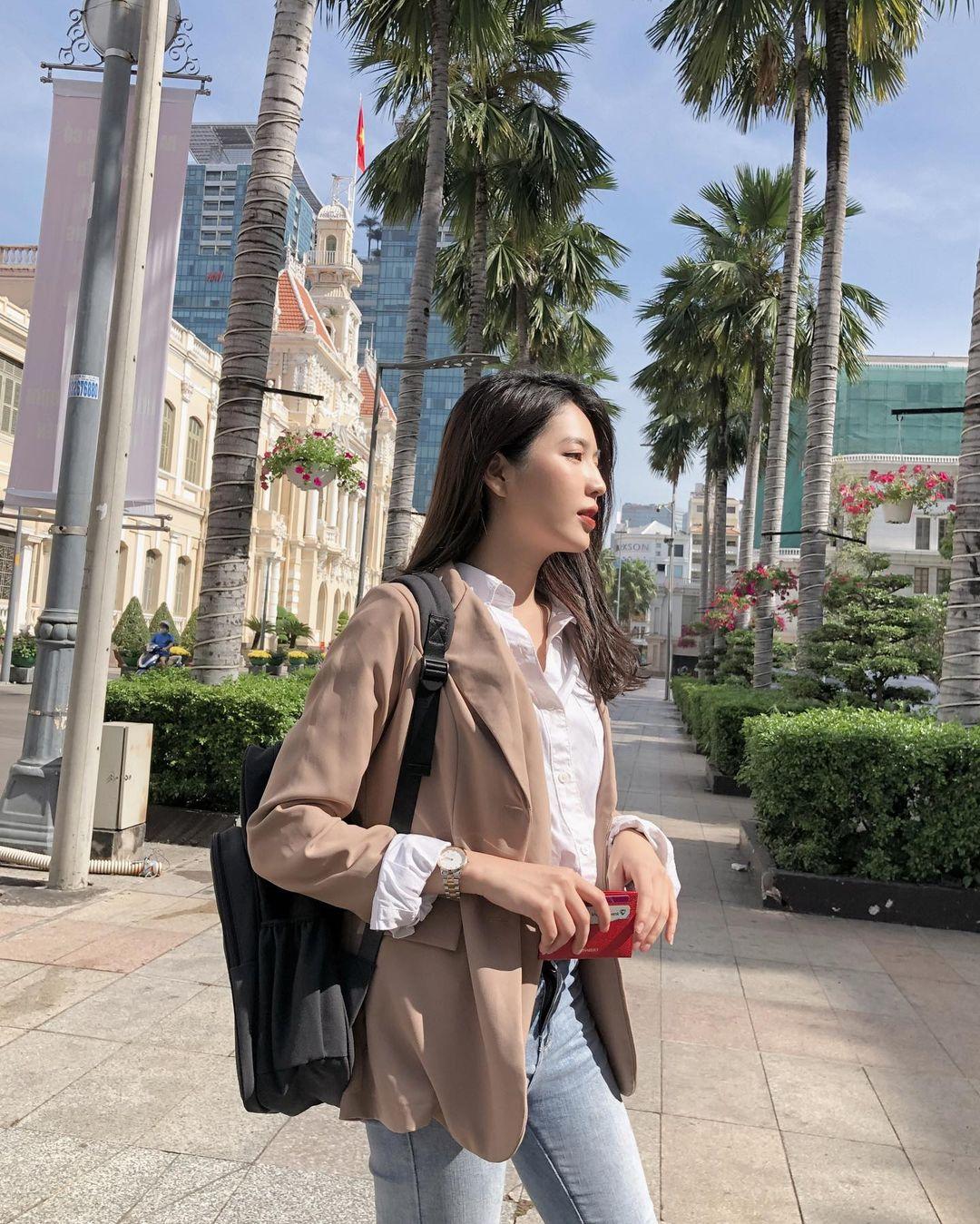 Influencer Việt Nam @sunnie.tran đã được Daniel Wellington lựa chọn (Ảnh: Instagram)