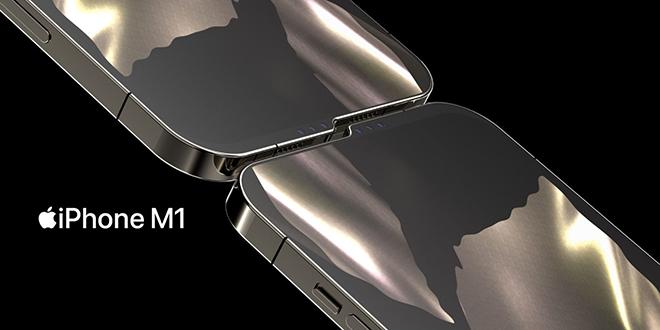 """Hình dung iPhone M1 với """"tai thỏ"""" lạ khiến iFan mắt tròn mắt dẹt - 1"""