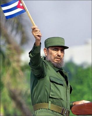 全球共產主義偶像的古巴前總統費德爾‧卡斯楚。(法新社)