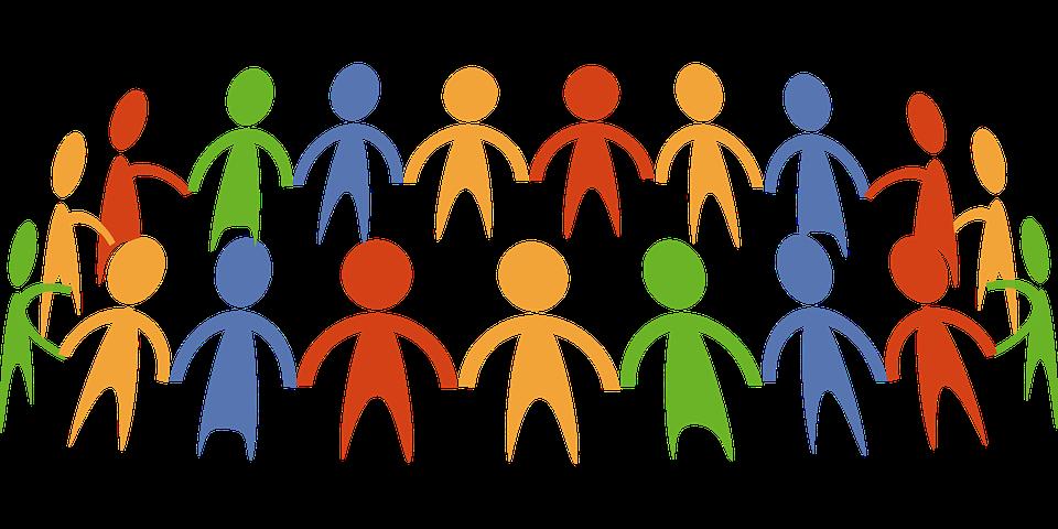 Círculo, Comunidade, Mãos, Exploração, Pessoas