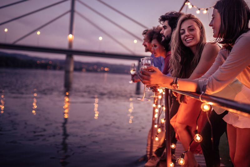 حفلة قارب، حفلات عيد ميلاد