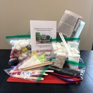 School Age Kit 2: Parachute Guys, Exploding Stick Bombs, Packing Peanut Sculptures, Grassheads, Tangrams, Hoop Gliders