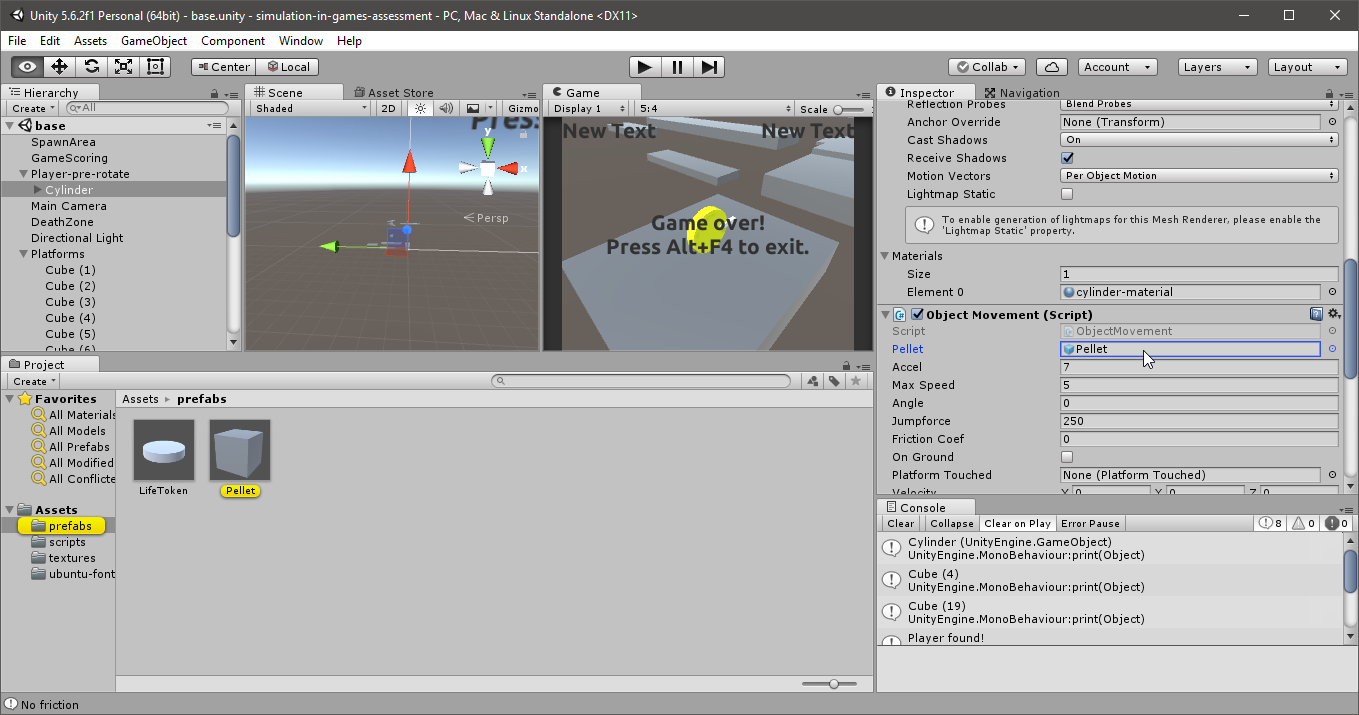 Unity collision with tagged object  #Collision Detection without