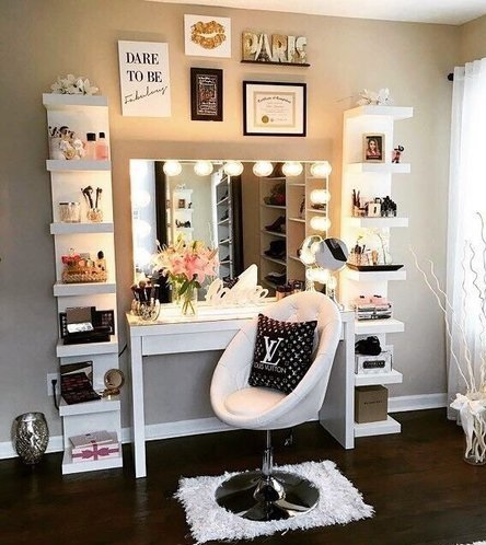 Give your dressing table a little glamor