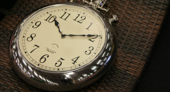 Open-Face Pocket Watch