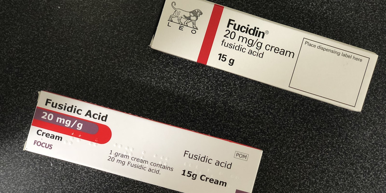 Fucidine (cream). Instructions