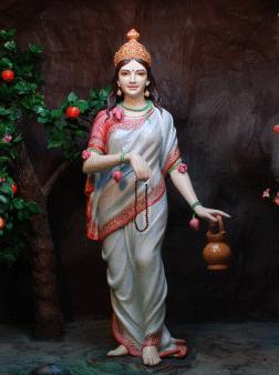 File:2-Maa Brahmachaarini (Vaishno Devi Maa Chhatikra-Vrindaban ...
