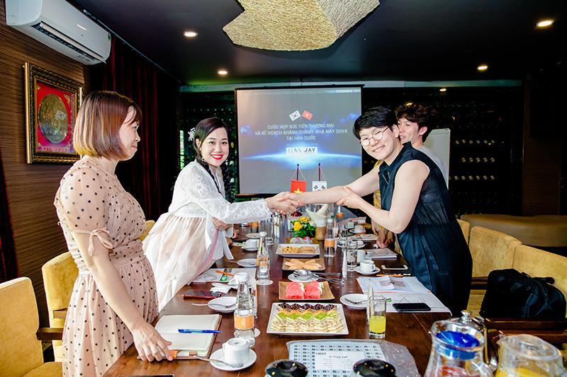 Cuộc họp Xúc tiến thương mại & Kế hoạch khánh thành nhà máy Dova tại Hàn Quốc - Ảnh 4