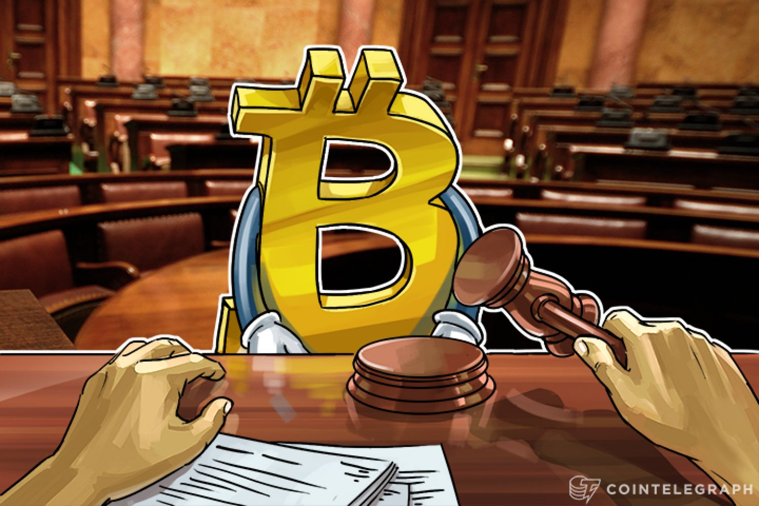 Bitcoin in the courtroom