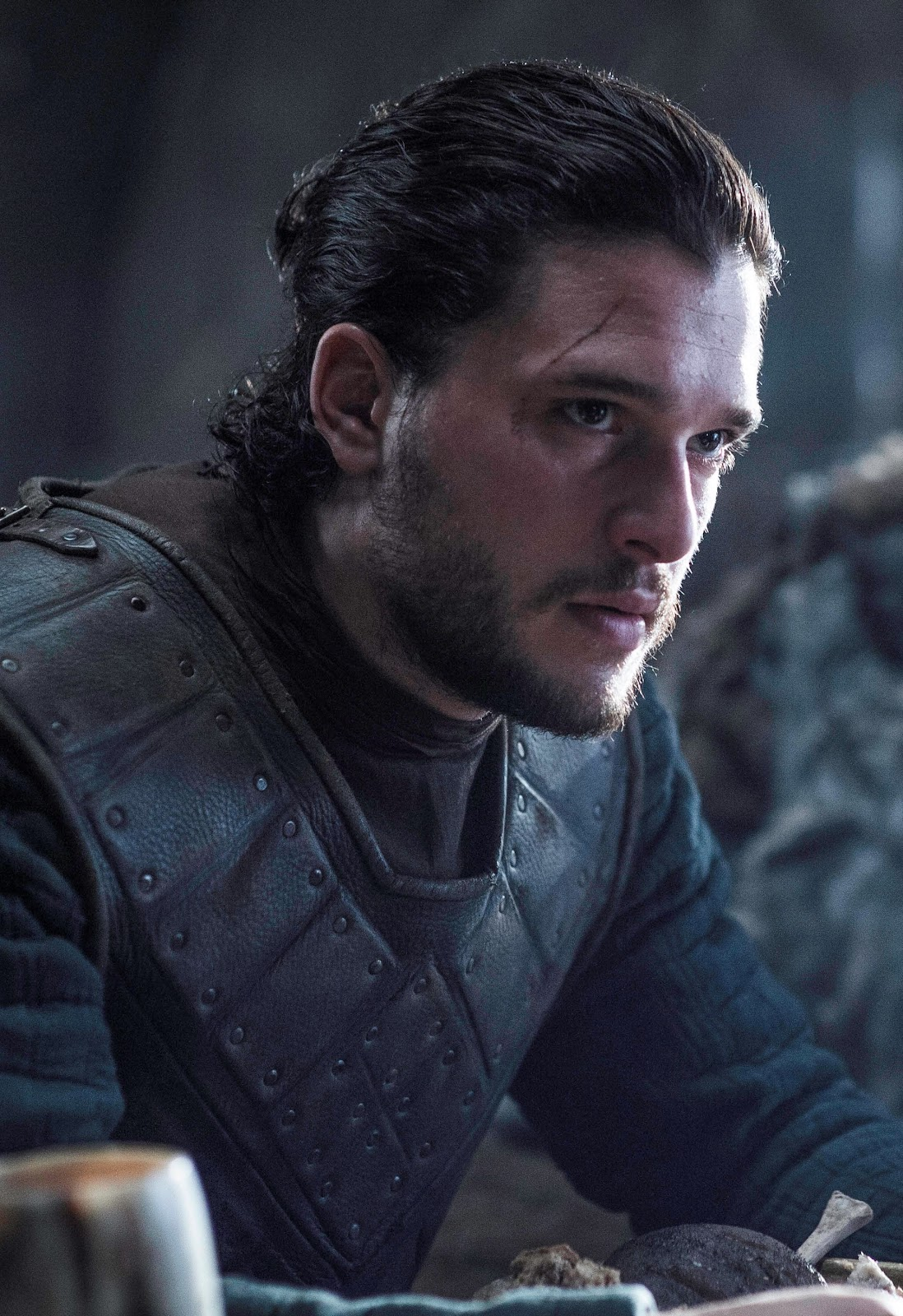 Jon Snow hair