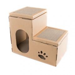 Rascador para gatos 2 en 1 TK-Pet Cat Home