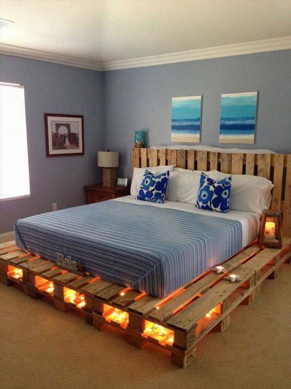 Giường gỗ pallet giá rẻ tại hồ chí minh