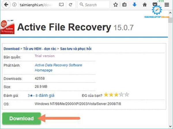cứu dữ liệu ổ cứng bị format