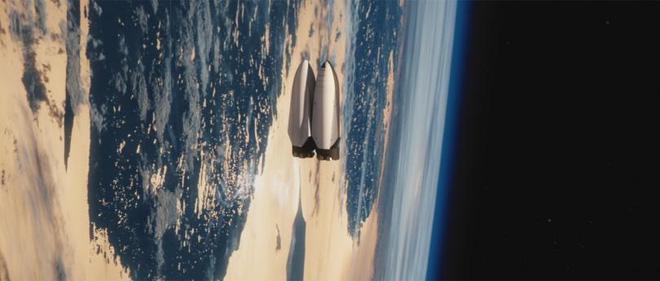Chiếc tàu sẽ tiếp nhiên liệu lại cho phi thuyền ngay khi nó còn nằm trên quỹ đạo
