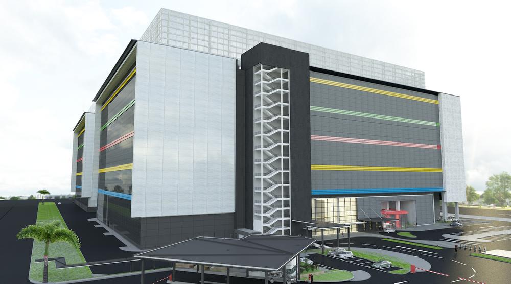 third data centre in singapore