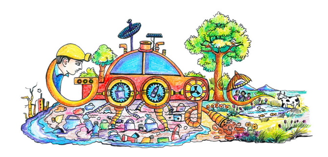 Official google india blog doodle 4 google is back show the world